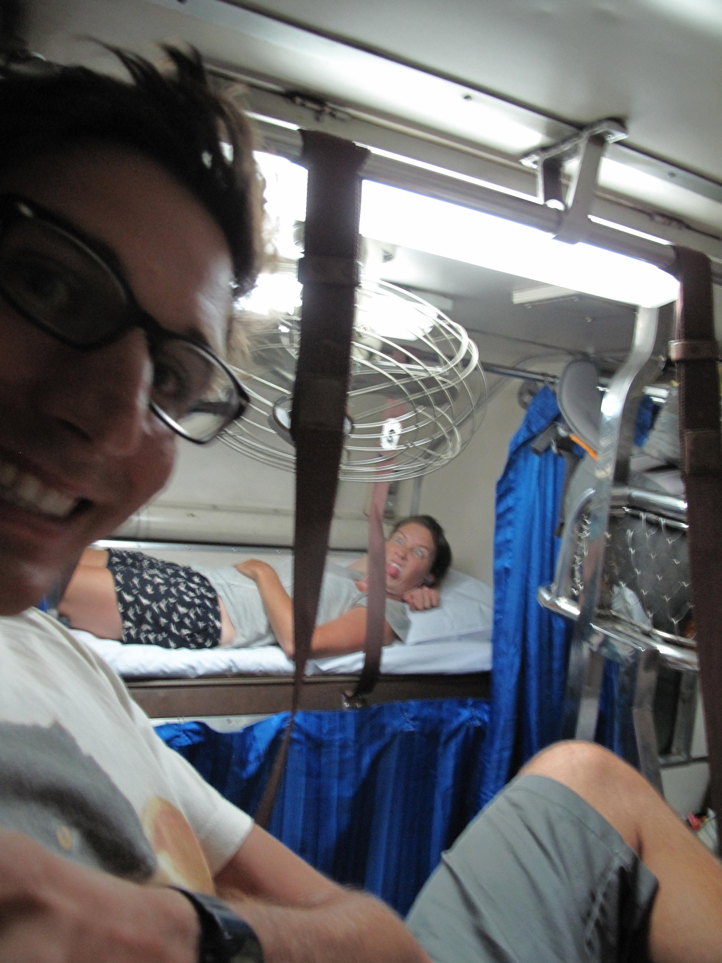 Train, Thailand