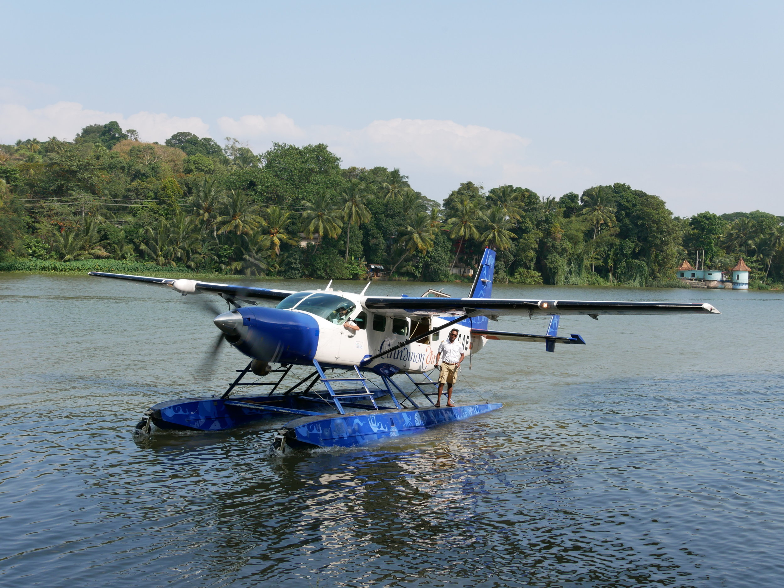 Seaplane Kandy Yala National Park Sri Lanka