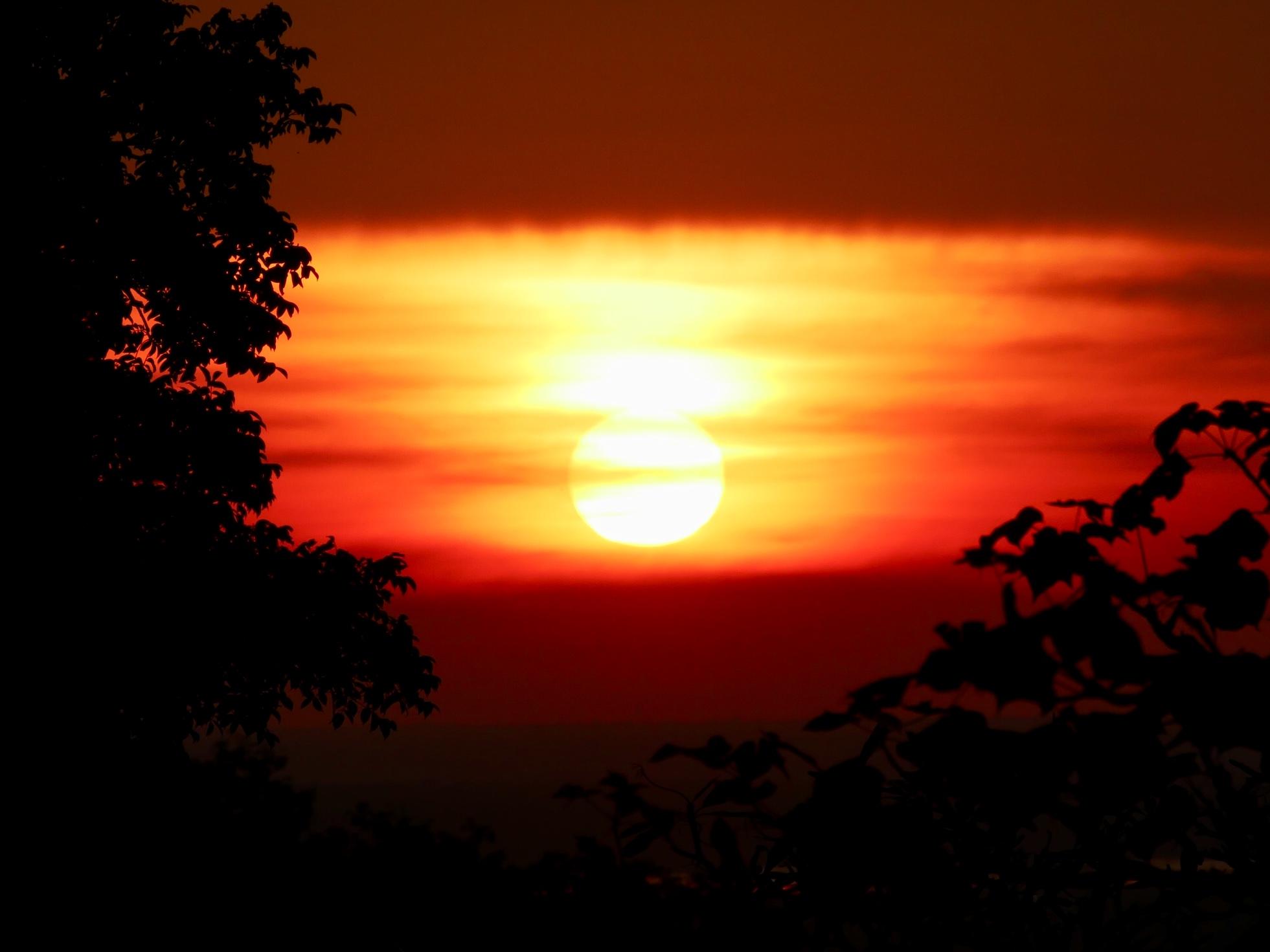 Mihintale sunset, Sri Lanka