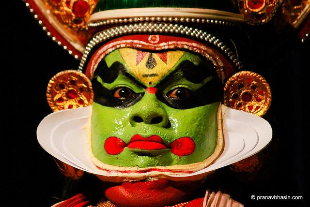 Kathikali make up
