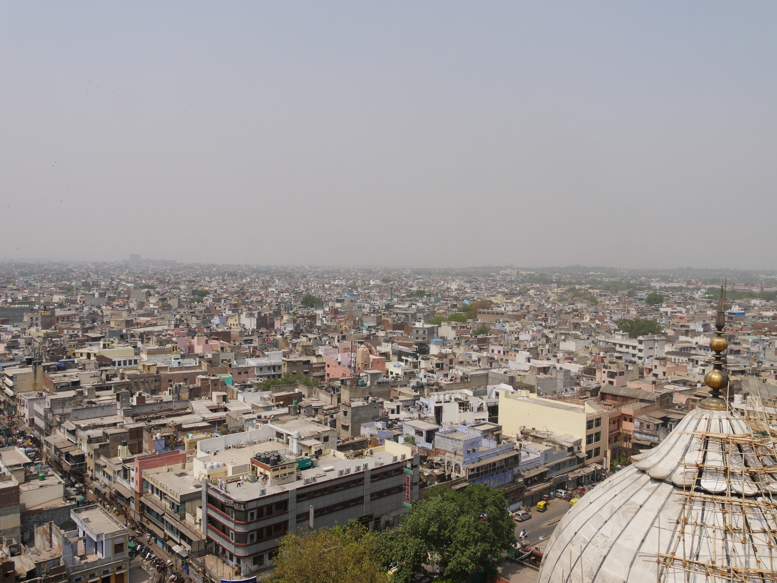 Views from the minaret