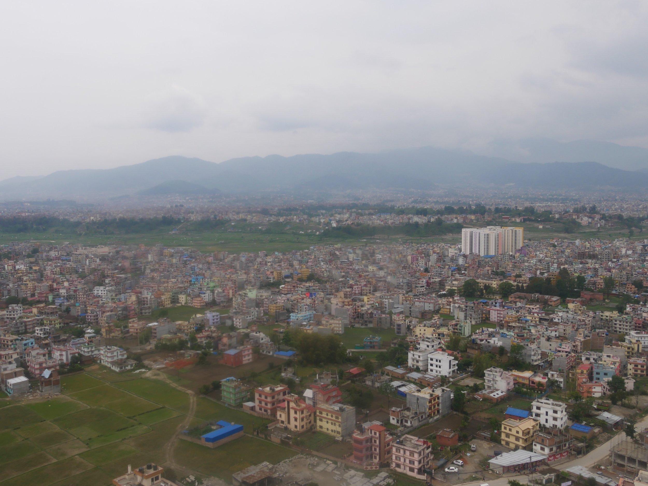 Kathmandu helicopter views