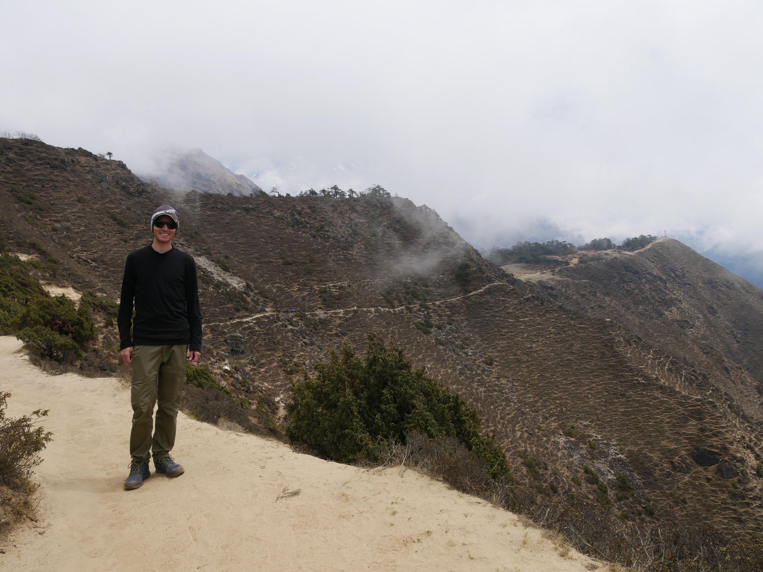 No Everest views here folks...