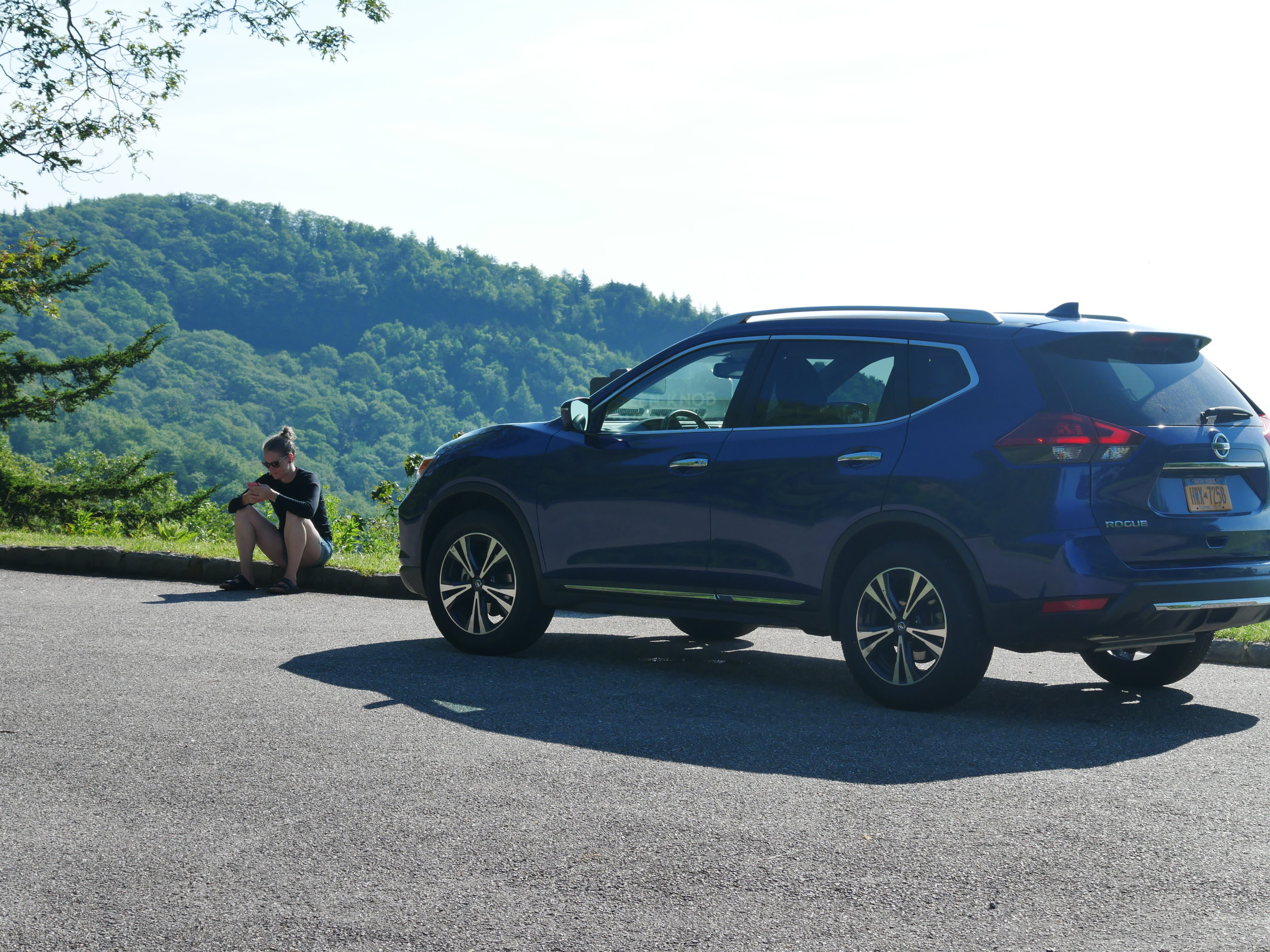 Trusty Rogue in the Blue RIdge Mountains