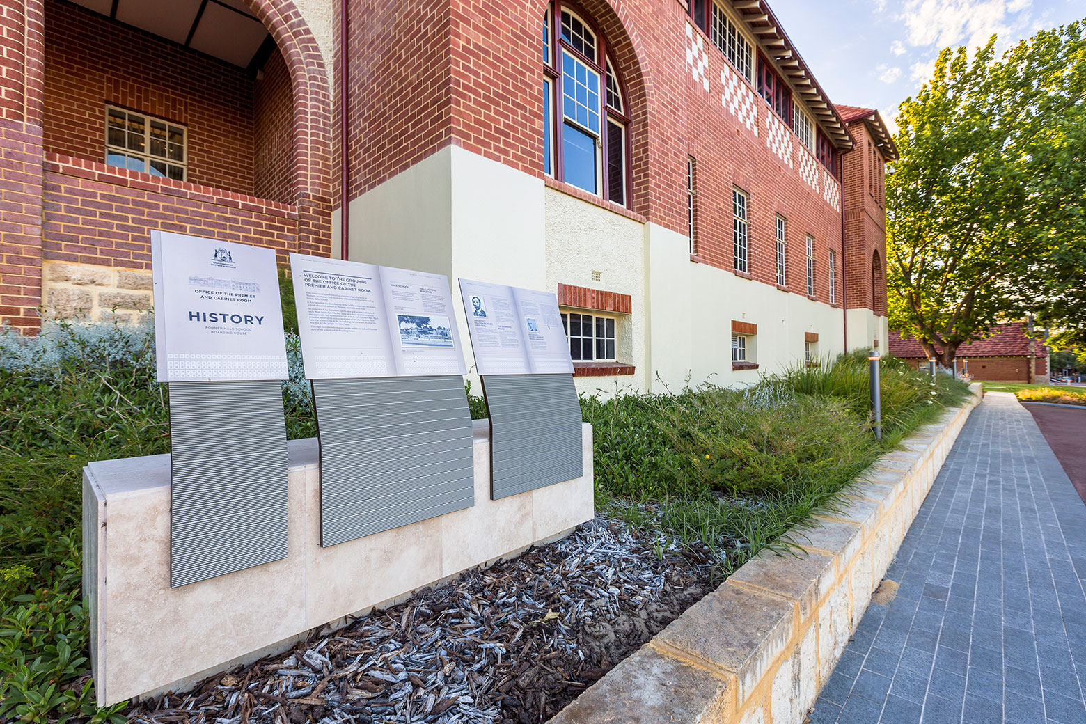 Commercial landscaping, Perth
