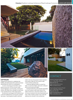 Cottesloe Landscape Project - Scoop Publishing Feature