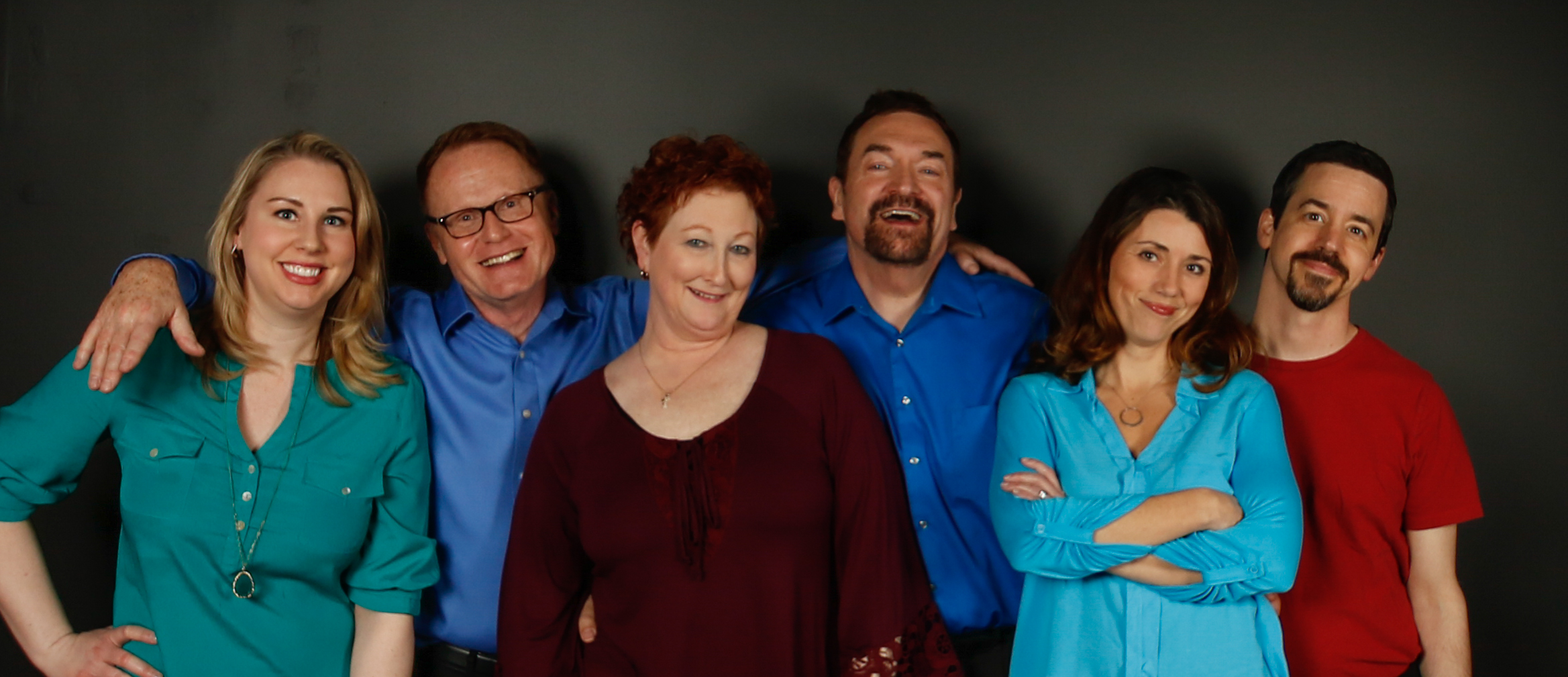 The Cast: Carolyn Lynch, David Duncan, Ellen Kingston, Thom Brown, Gail Payne, Matthew Vire