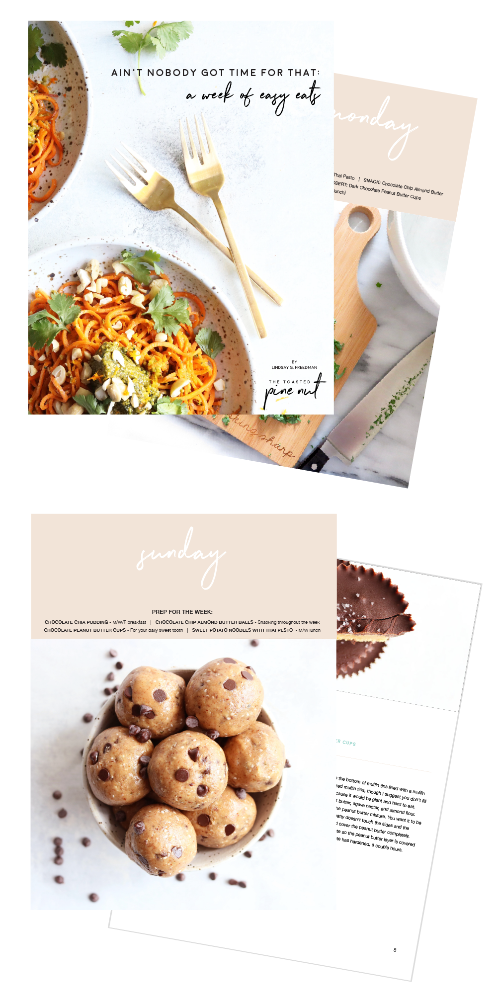 E-book Design for Food Bloggers - Food Blogger E-Book Design - Graphic Design for Food Bloggers