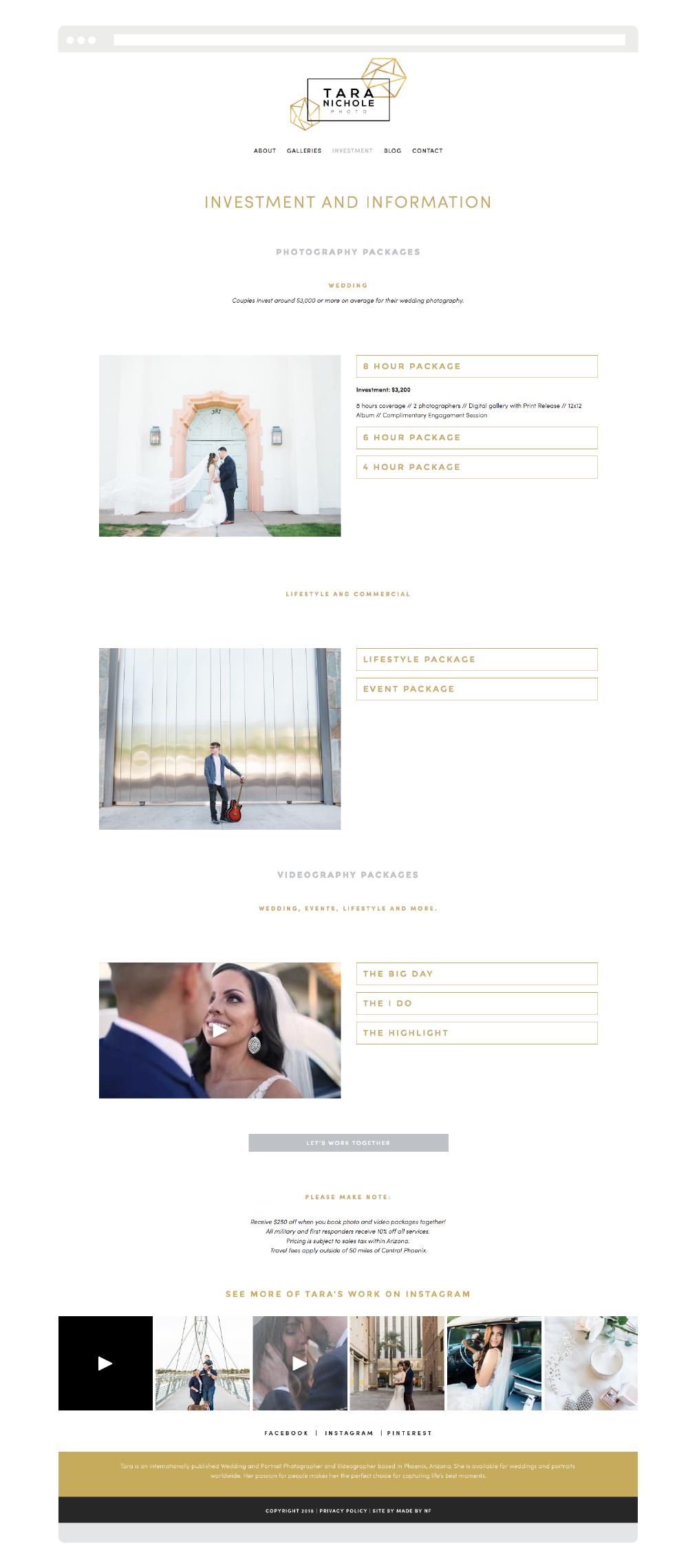 Squarespace Website for Wedding Photographers - Photographer Squarespace Website - Made by NF.png