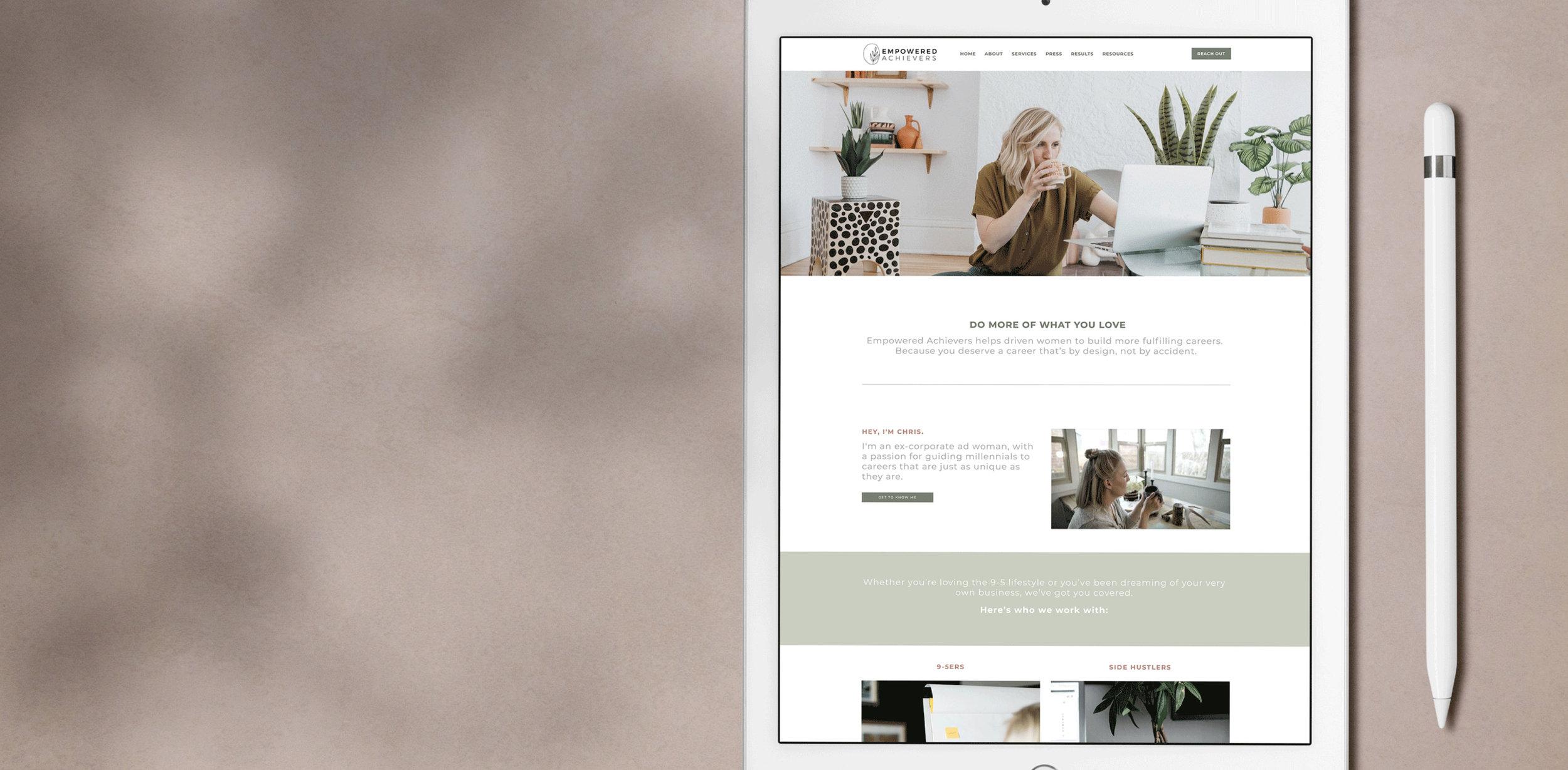 Squarespace website design for career coachies - Squarespace website design for millennials.jpg