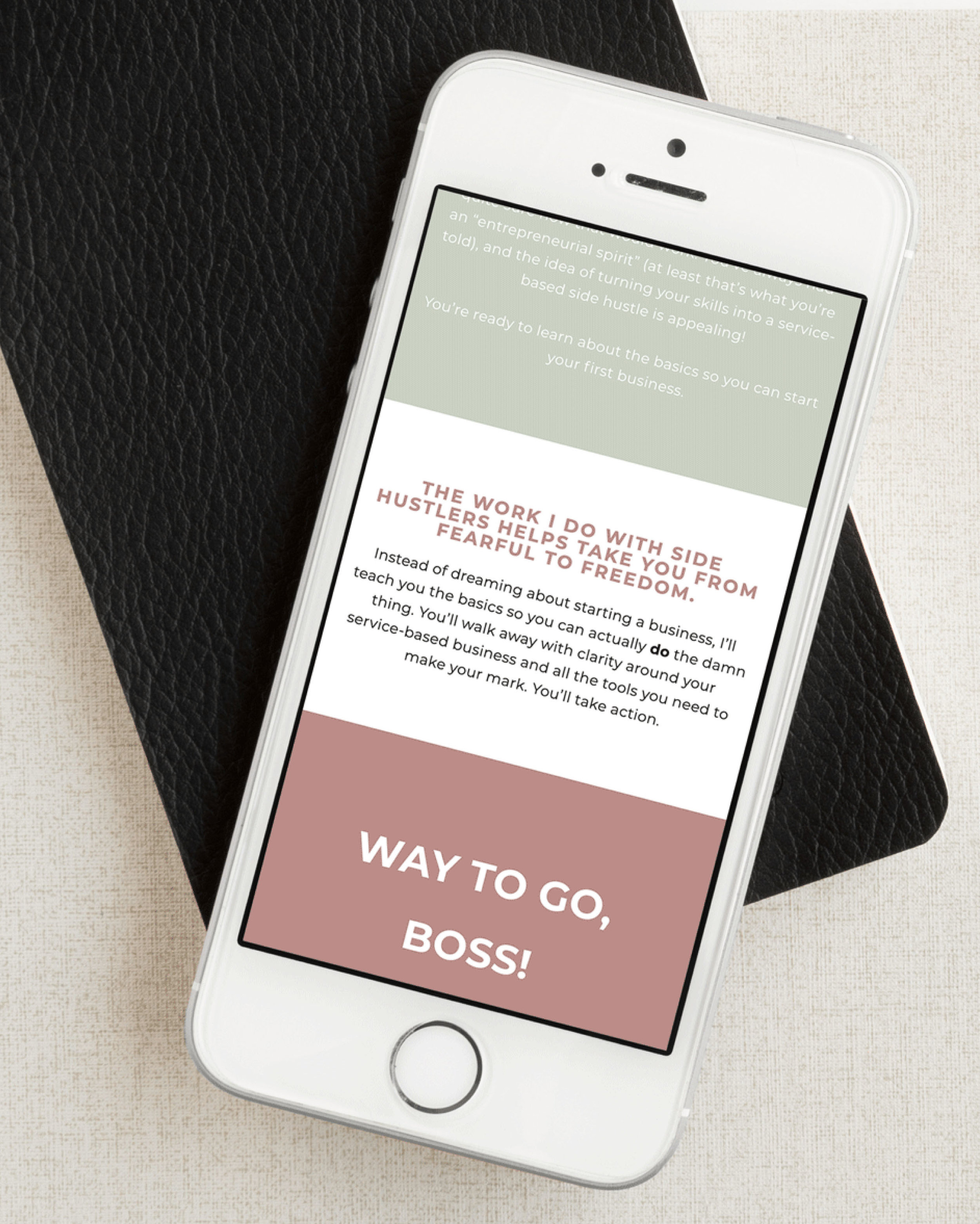 Website Design Squarespace for Creatives and Coaches - Millennial Coaching Squarespace website.jpg