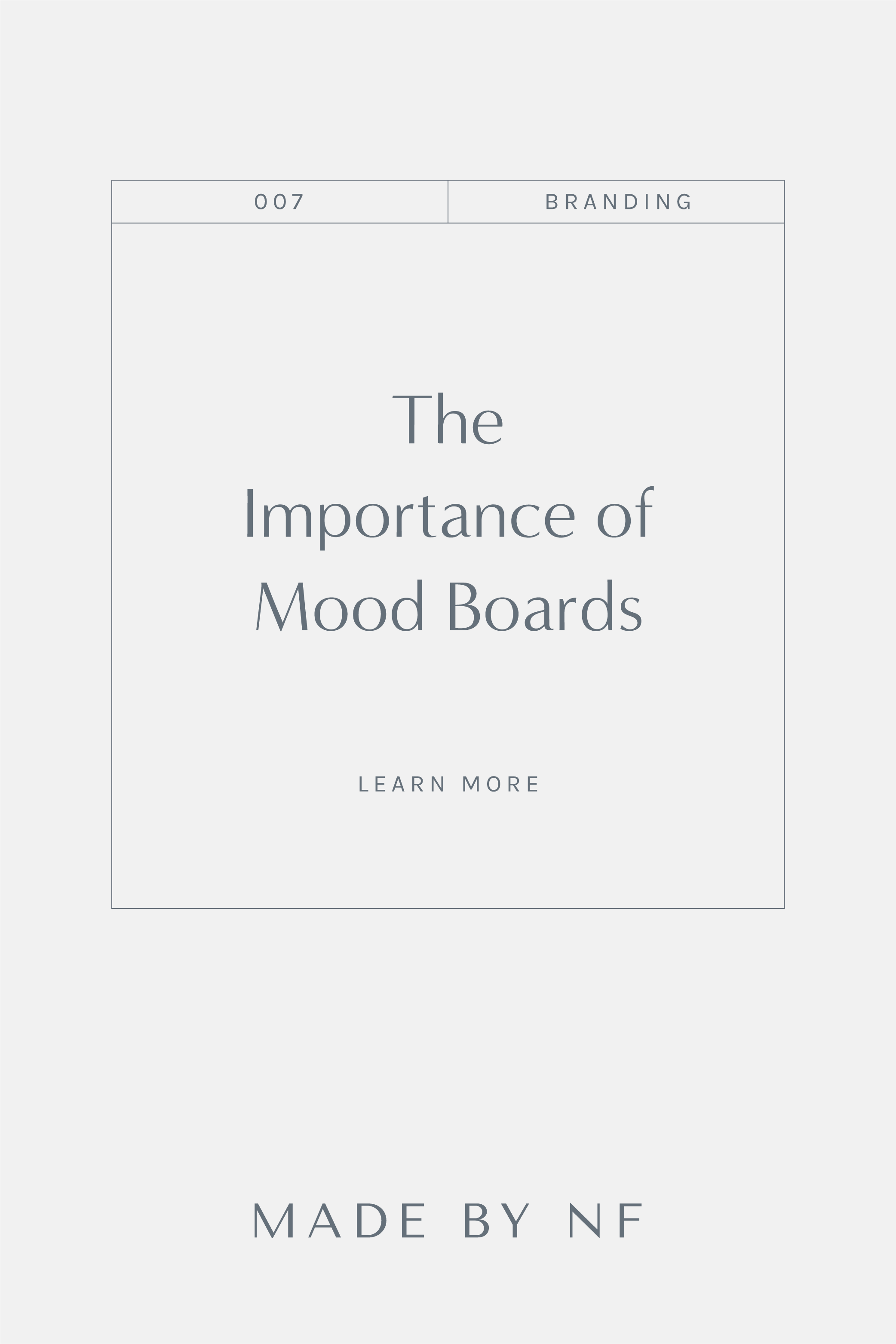 Why I use mood boards and part of my branding process - mood boards for branding