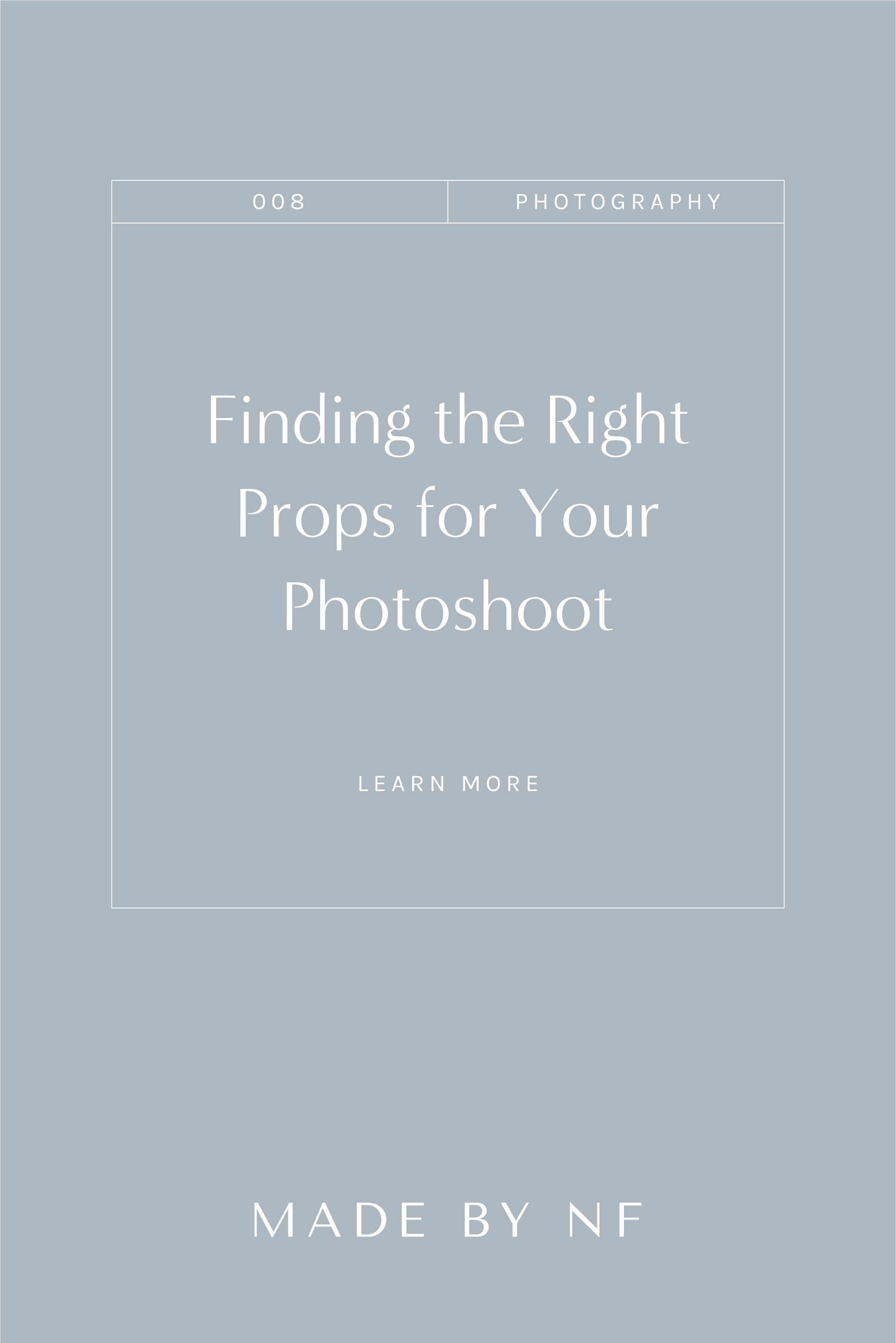 Three Tips on Finding the Right Props for Your Photoshoot - Photography Tips for Lifestyle Photoshoots