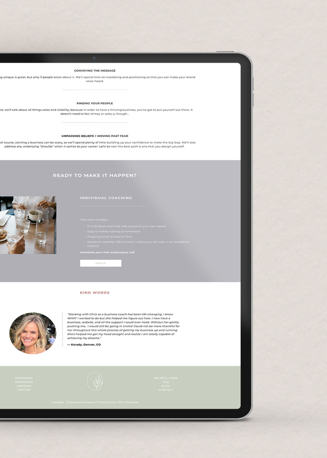 Custom Squarespace Website Design for Coaches and Millennial Coaches.jpg