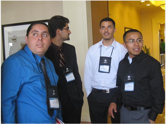 Photo by Virginia Estrella @ SHPE San Diego Regional Leadership Conference 2010