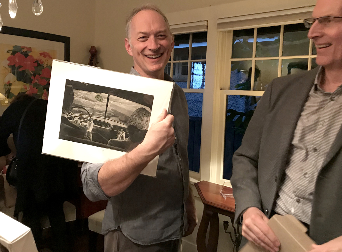 Print by Frances Watt-Elphinstone goes to an appreciative guest