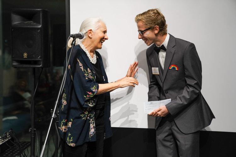 Ruth Payne Emerging Artist grant recipient Andrew Warner (Spoken Word)