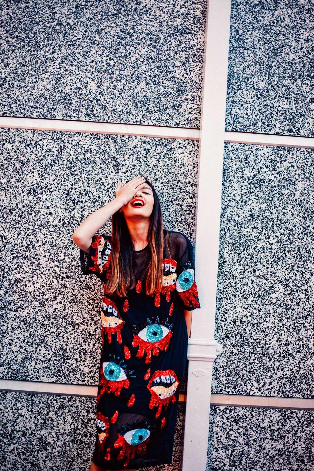 DISCOUNT REBEL - Creative Direction & Photography - Dinosaurtoast | Featuring - Natarsha Orsman @ KBM, Michael Hooker International,Red 11 & IMG International & Lemmy the Pug | Makeup - Maia Renner | Style - Jacque Shaw