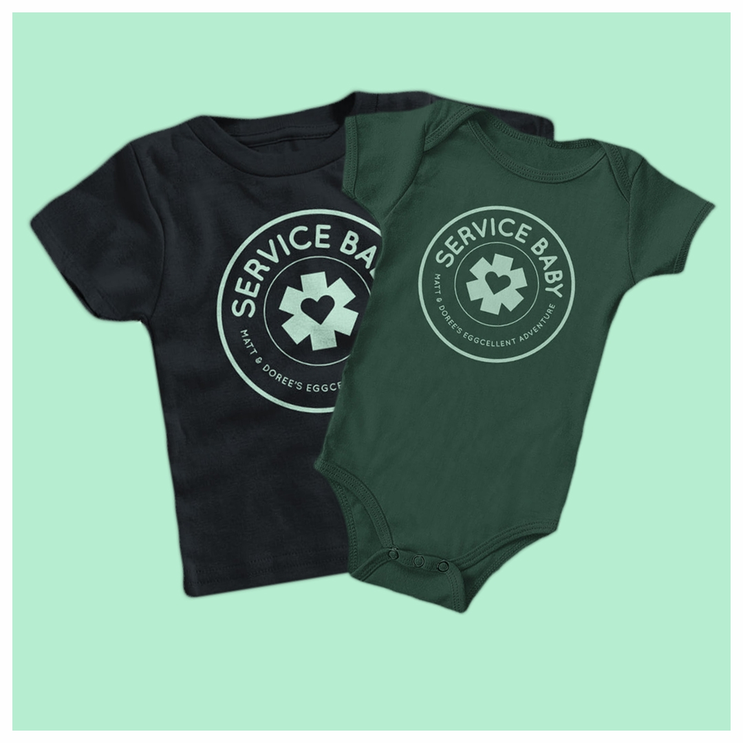 Service Baby - Apparel for kids and infants!