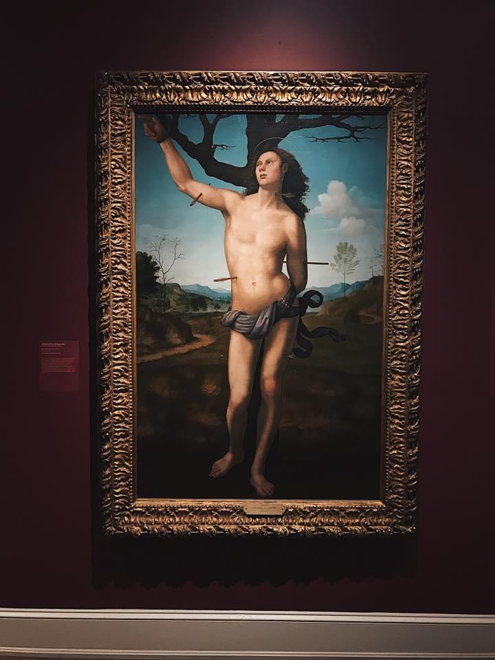 """Saint Sebastian"" by Giuliano Bugiardini"