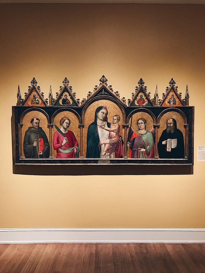 """Madonna and Child with Saints"" by Bernardo Daddy"