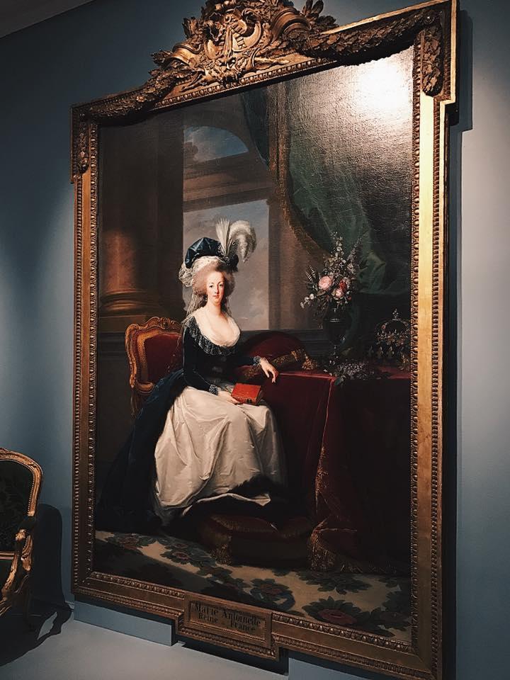 """""""Portrait of Marie Antoinette, Queen of France"""" by Louise Élisabeth Vigée Le Brun"""