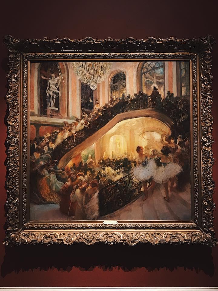 """""""The Masquerade Ball-Grand Opera House"""" by Gaston La Touche"""