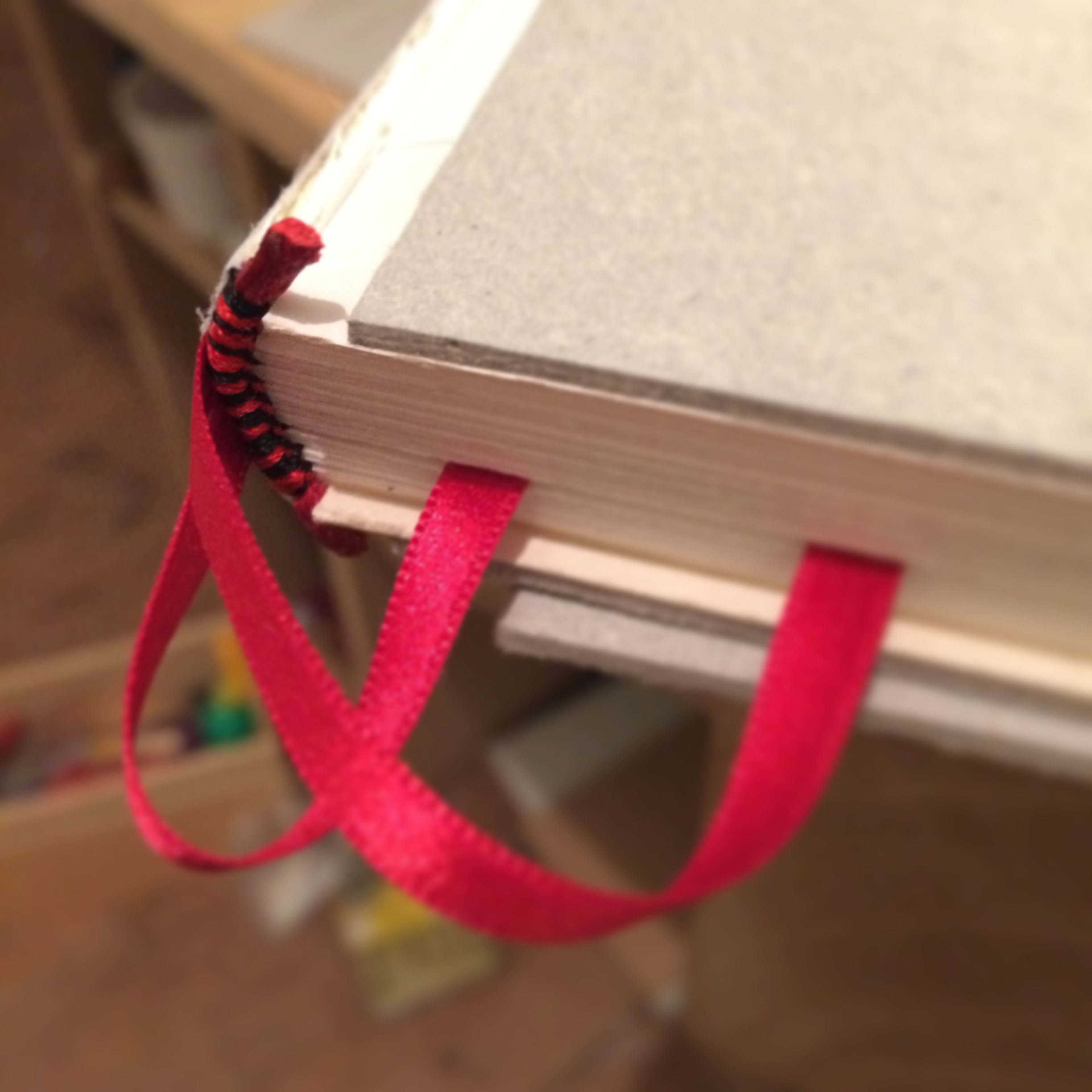 For this binding I also decided to add some page makers as I often want to be able to jump between sections of my notebooks and journals