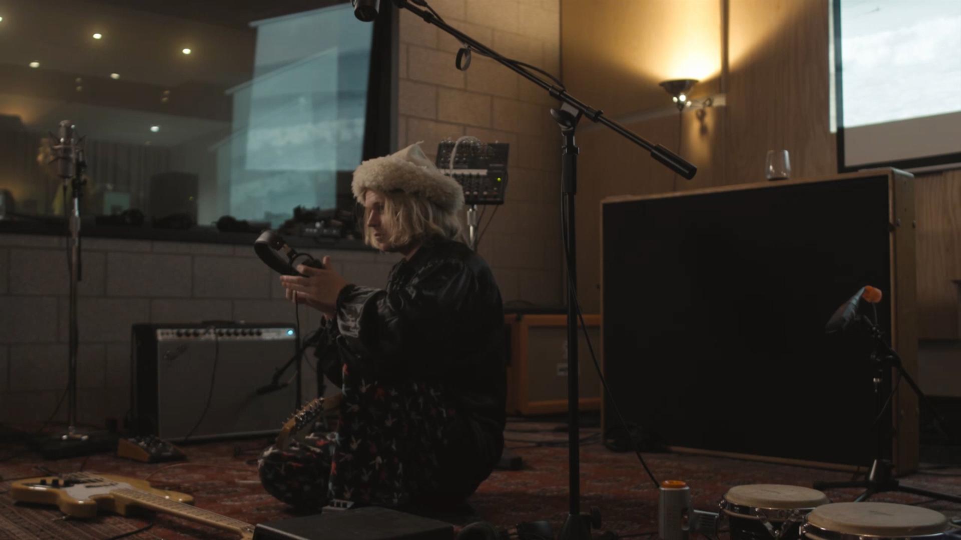 Connan Mockasin recording for SDFSS