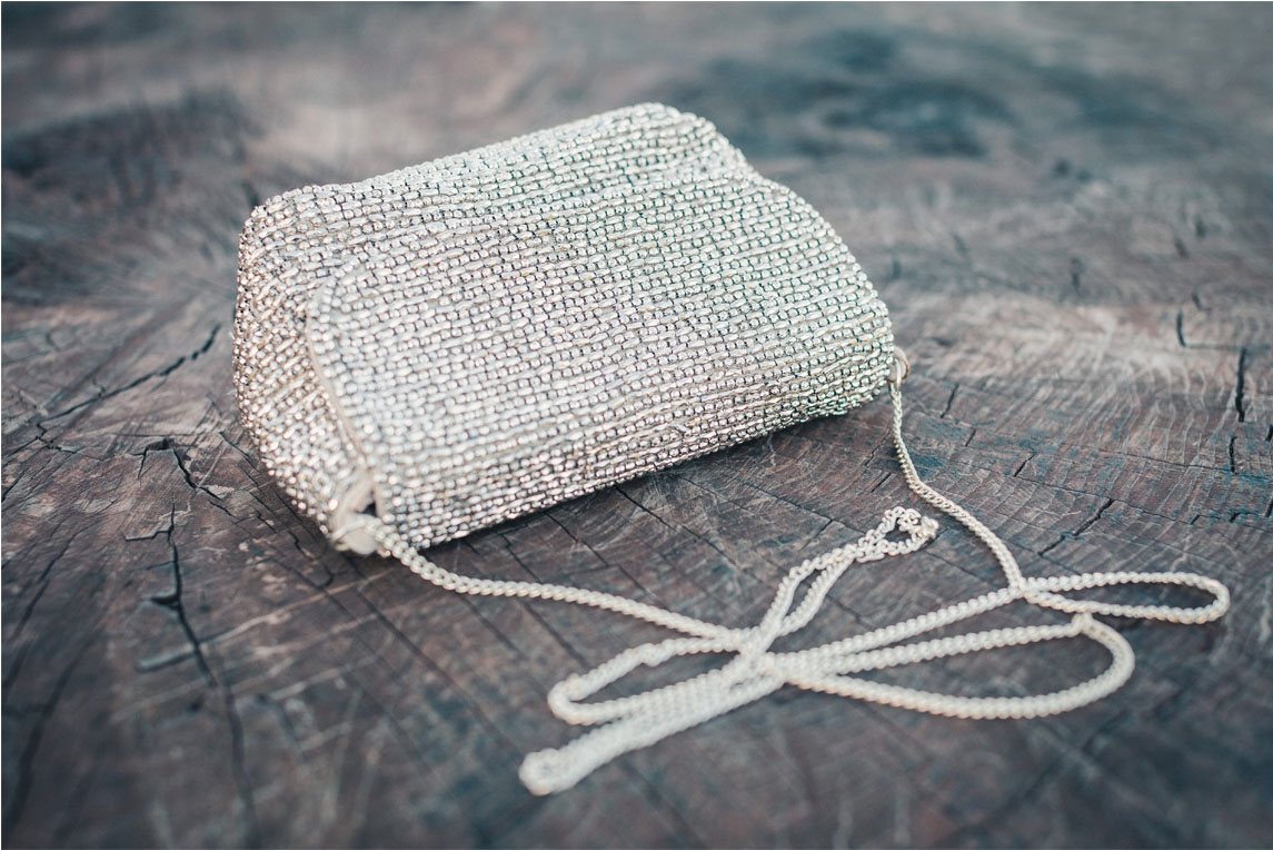 Beaded bag from a large range at  Accessorize