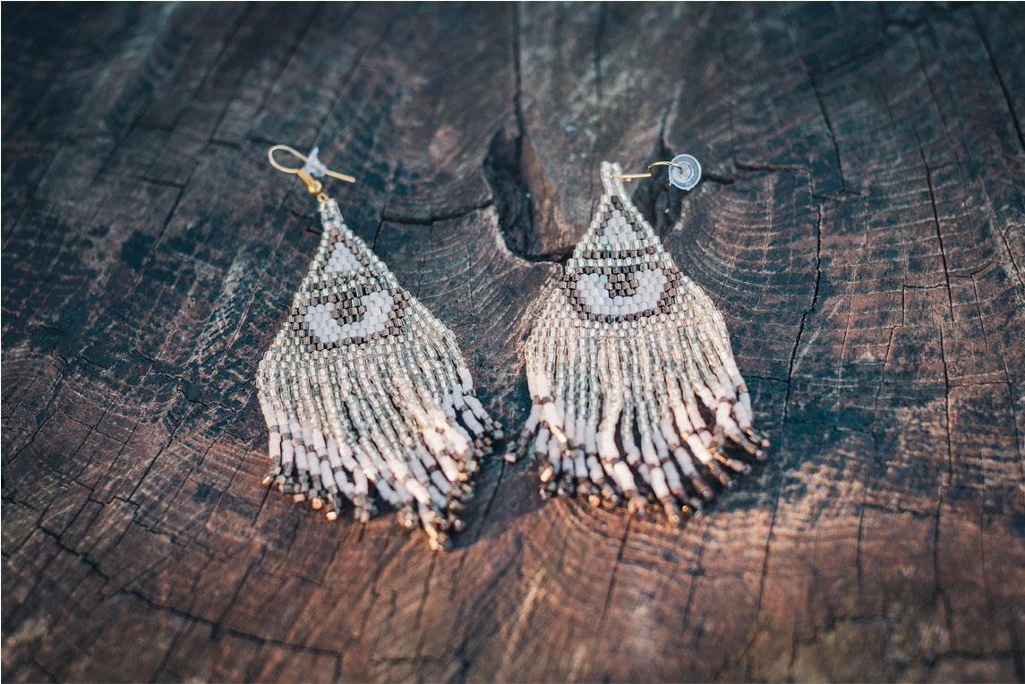 Earrings from  Mango