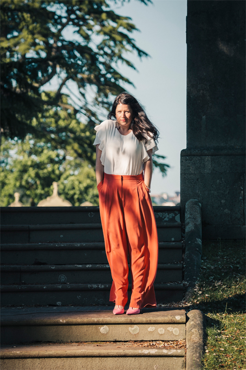 Trousers by River Island. Top by Mango. Photo by  Remco Merbis