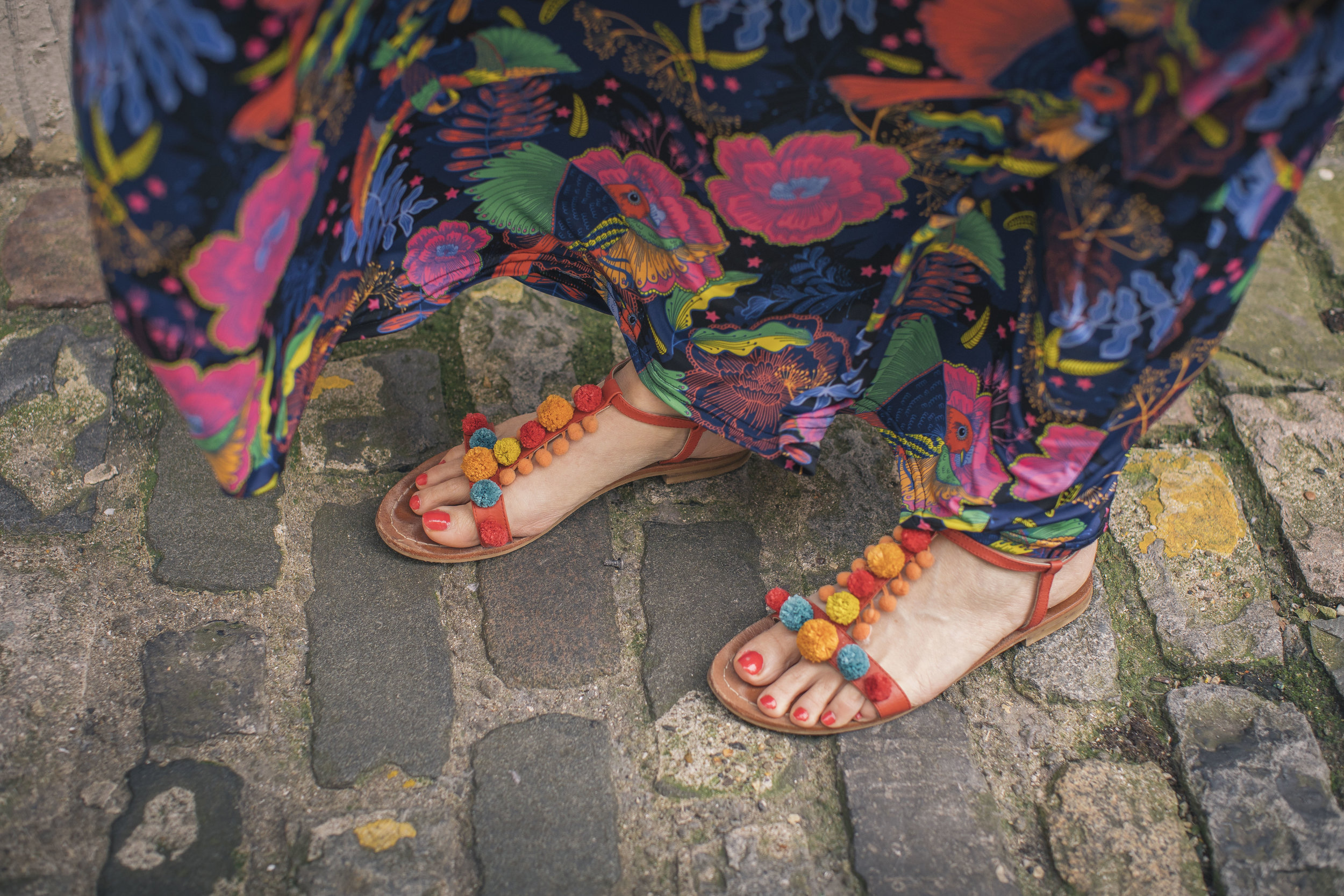These sandals were a gift from Boden last year, they magically go with anything and everything!