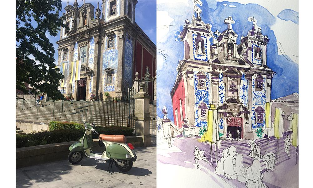 Church Santo Ildefonso, Porto
