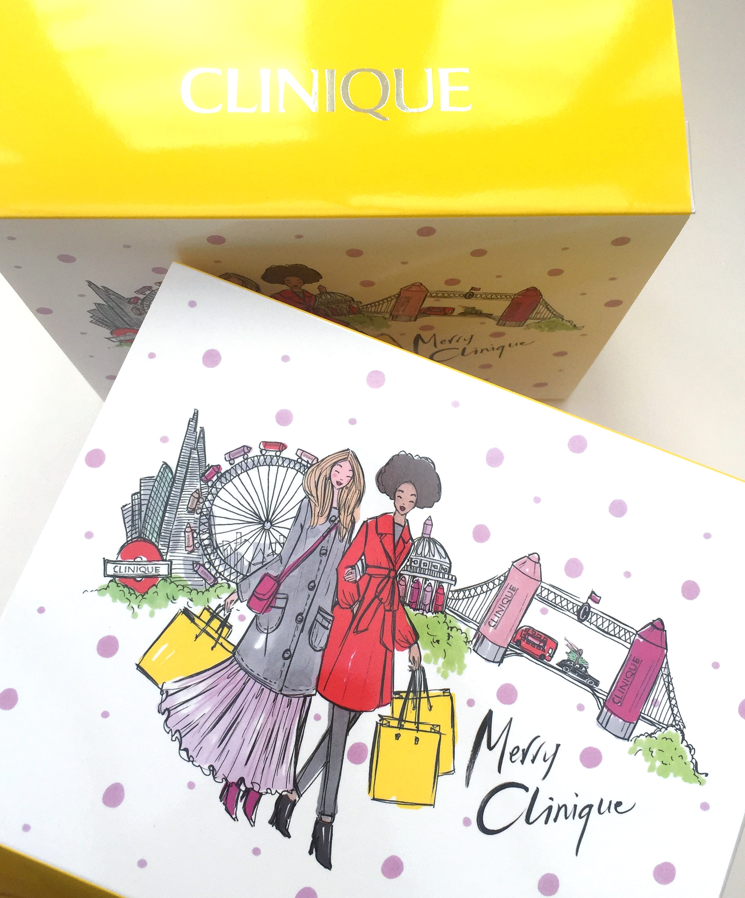 Commissioned by Clinique - Limited Edition Packaging at Selfridges