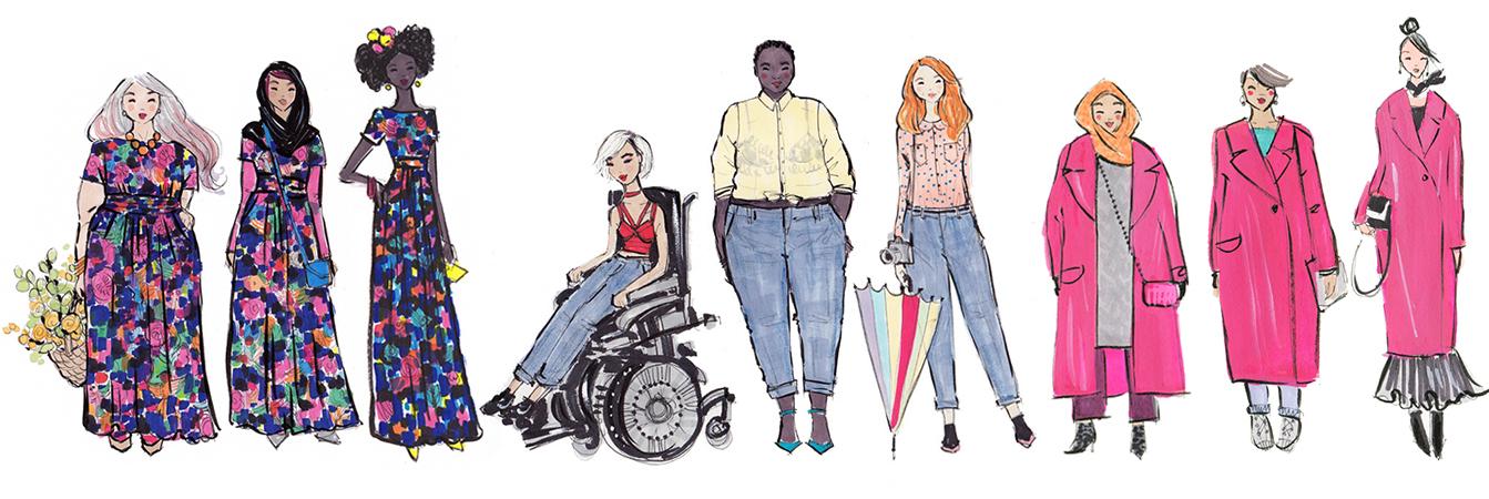 diverse fashion