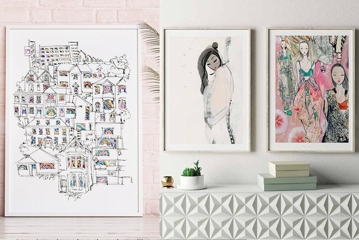 How To Sell Artwork On Your Website Miss Magpie Fashion Spy