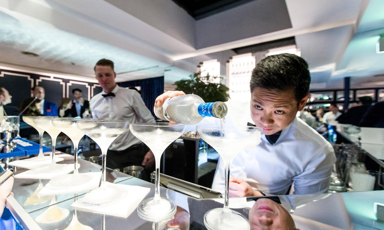 Grey Goose - Salon de Martini event