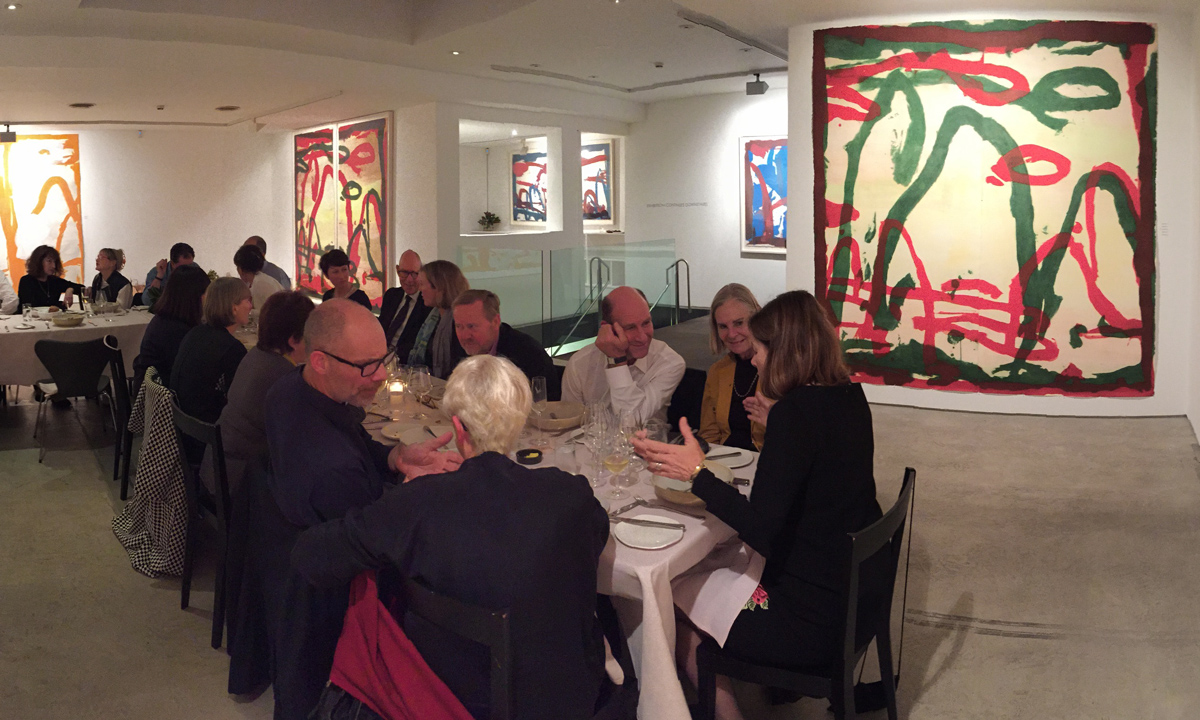 Peter Godwin - Artist Profile dinner