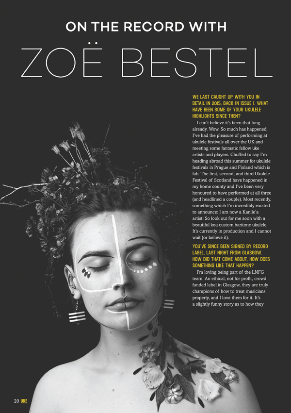 Zoë's song writing skill shows a vision and depth that has caught the eye of a record label.