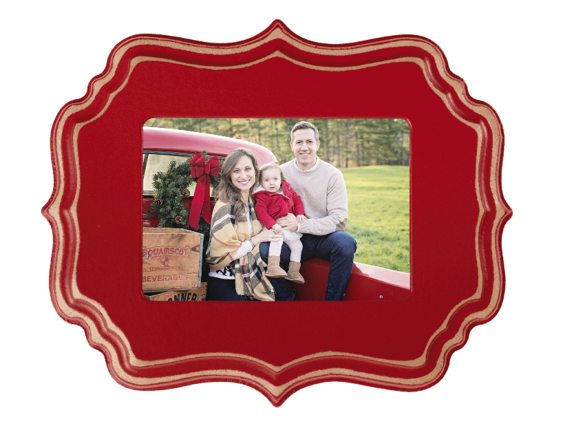 NEW THIS YEAR! Wooden Holiday Ornaments for the Tree OR as a Frame.