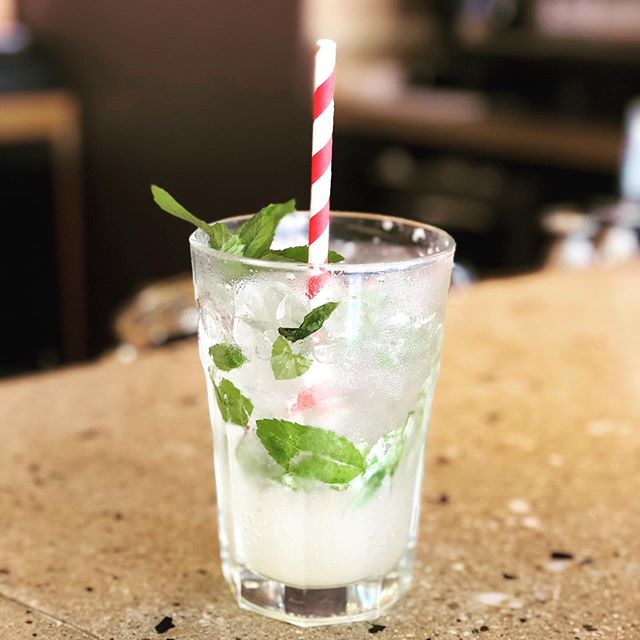 @visitfreeport today to cool off with a refreshing cocktail or mocktail. We have air conditioning!  #summercocktail #airconditioned #visitfreeport