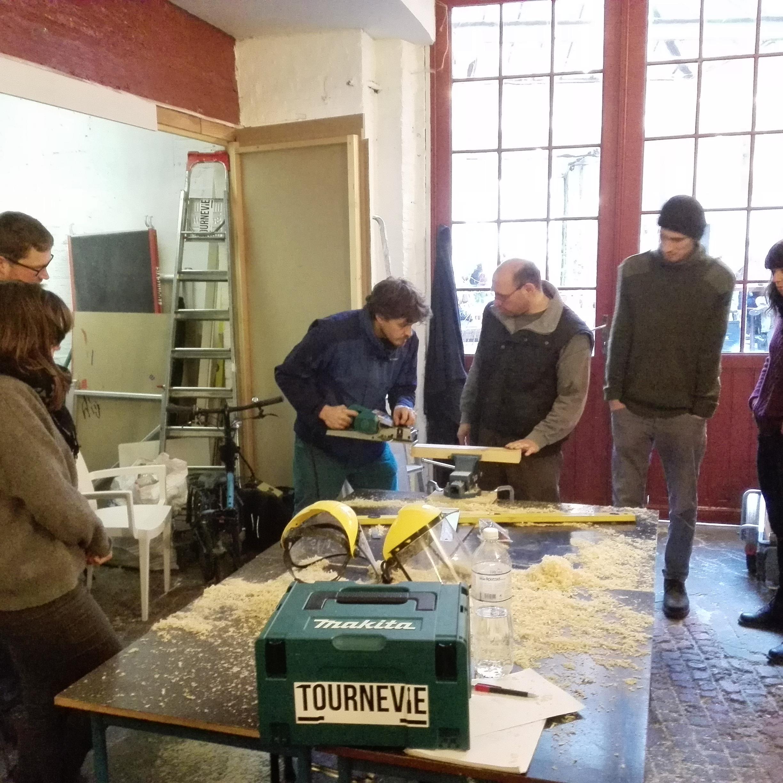 Workshop for volunteers