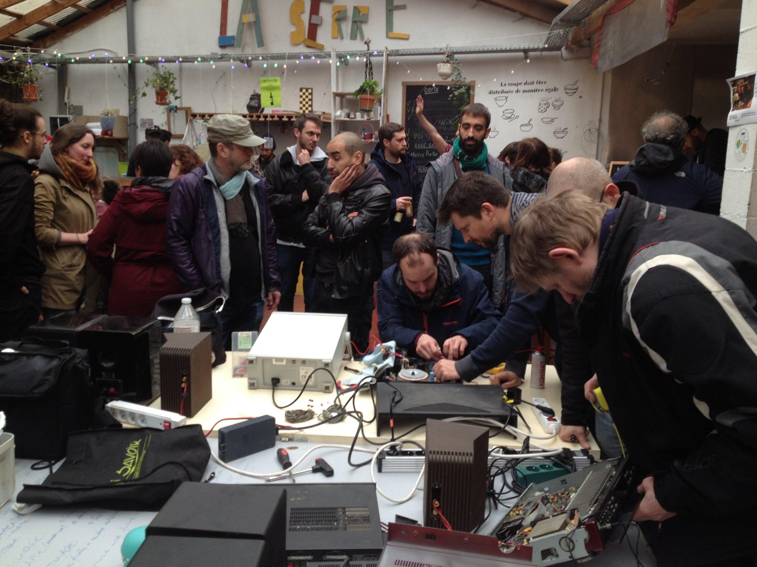 Street Party in Rue Gray, Ixelles - 29/4