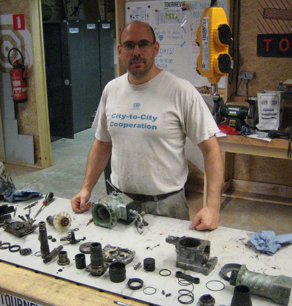 Tournevie repair session