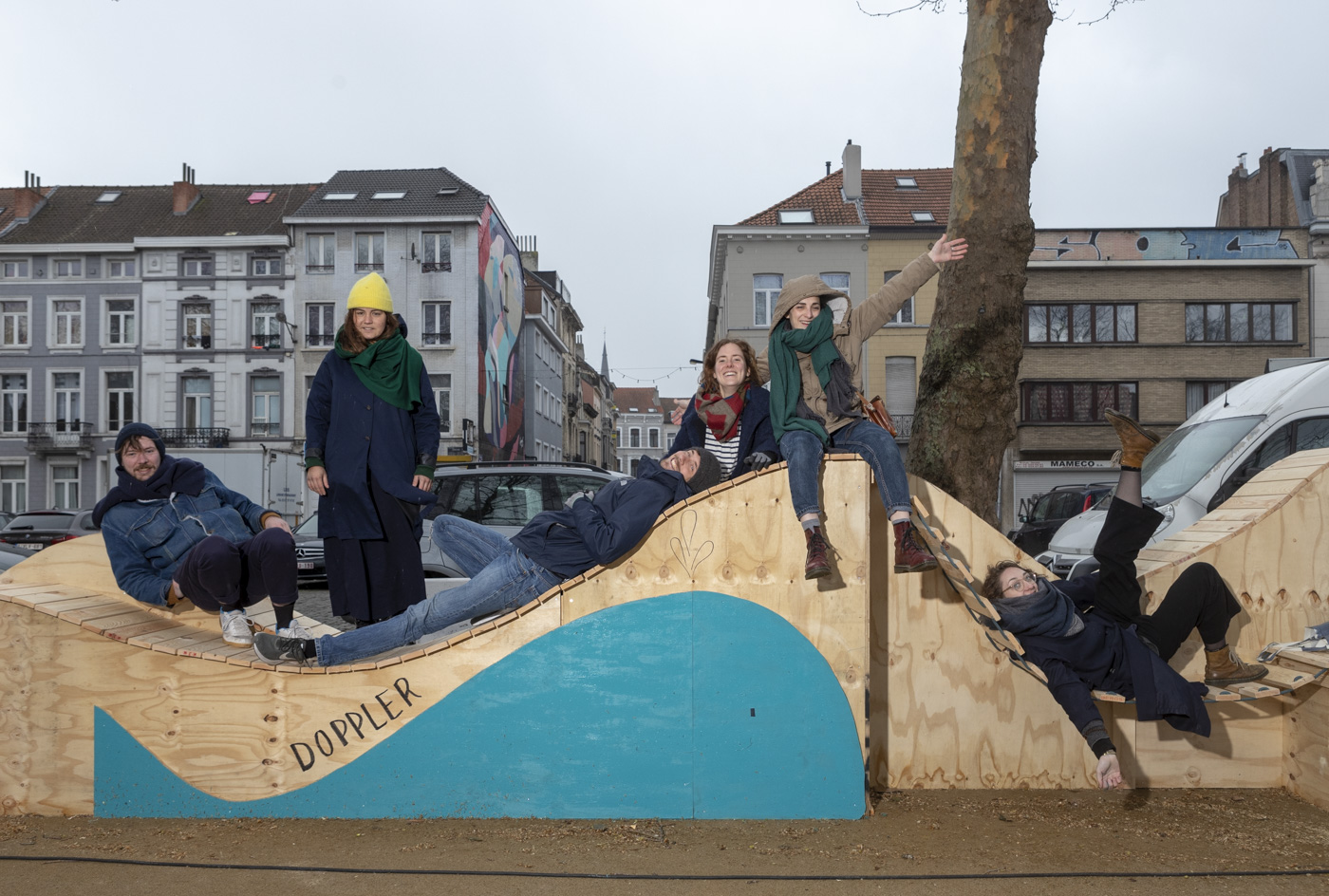 The longest bench of Brussels