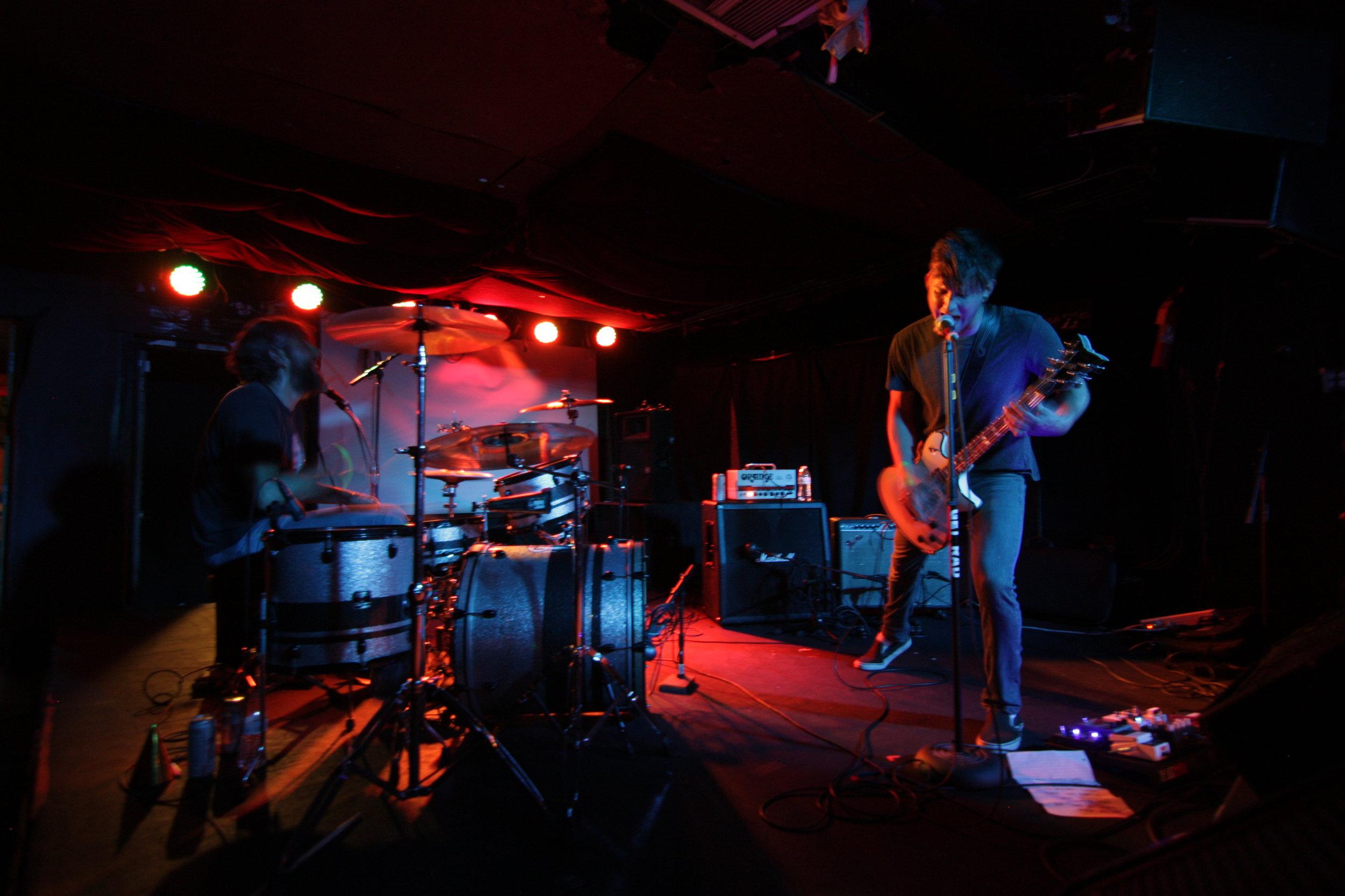 Live @ Larimer Lounge (Photo credit: Jack Stewart)