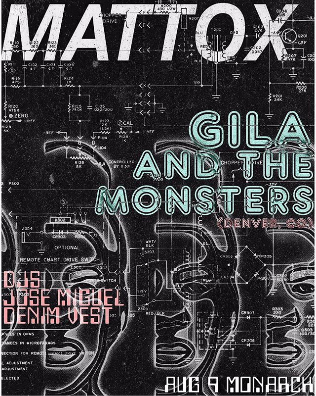 ALERT: G.A.T.M. Micro Tour this weekend. DENVER ➡️EL PASO➡️ CIUDAD JUAREZ. Free show with old friends @mattoxband Friday night at @monarchriogrande!