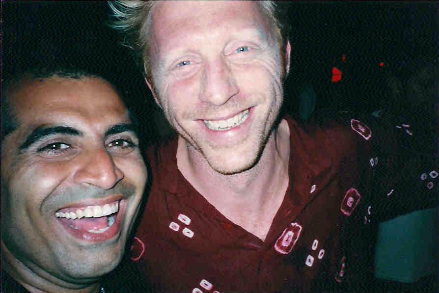 with Boris Becker