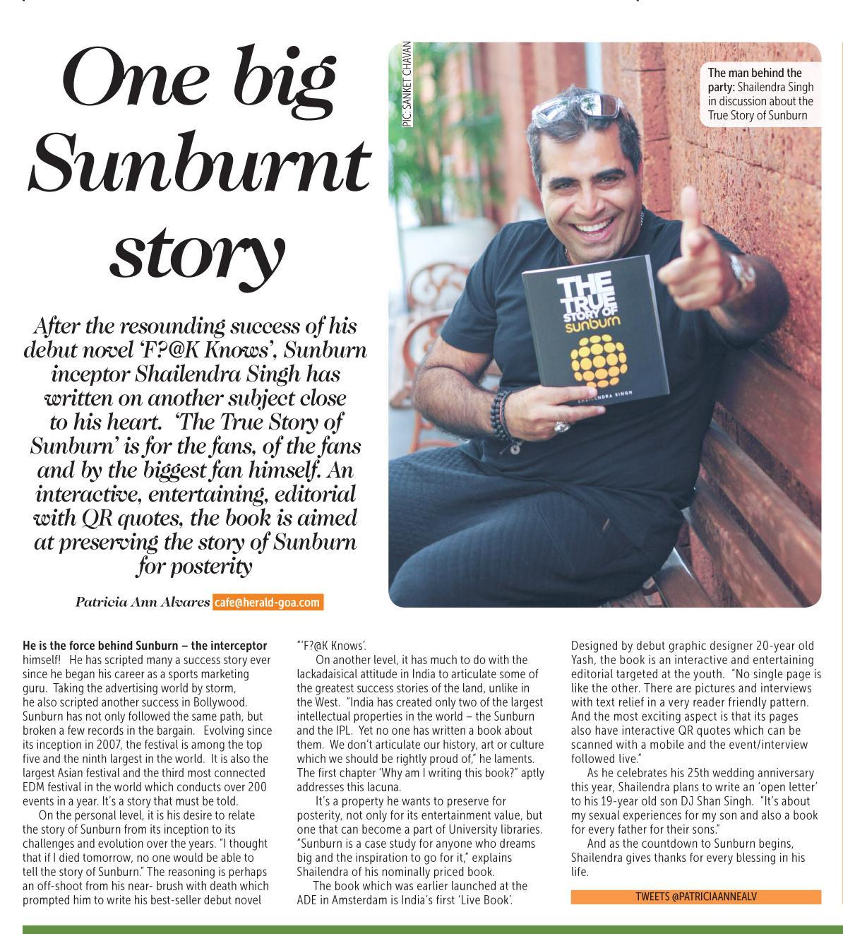Shailendra Singh - Deccan Herald Sunburn